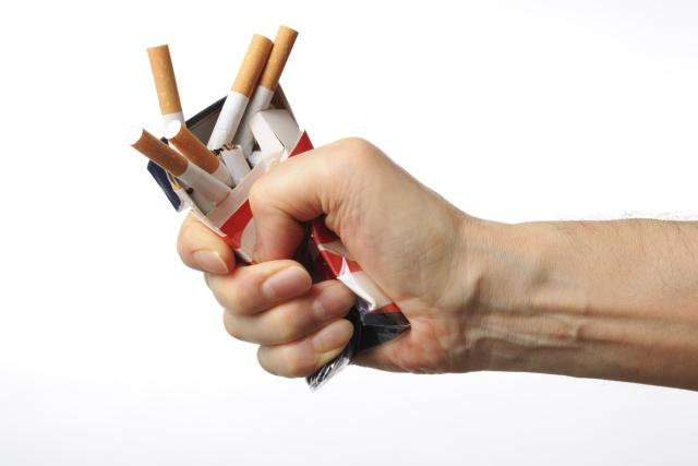 Quit Smoking - Broken cigarettes
